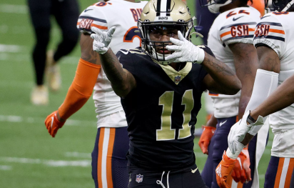 Saints are getting healthier.  Offensive players like Michael Thomas and Alvin Kamara both scored touchdowns in their rousing returns to the lineup, but let's not forget about WR/punt returner Deonte Harris.   -