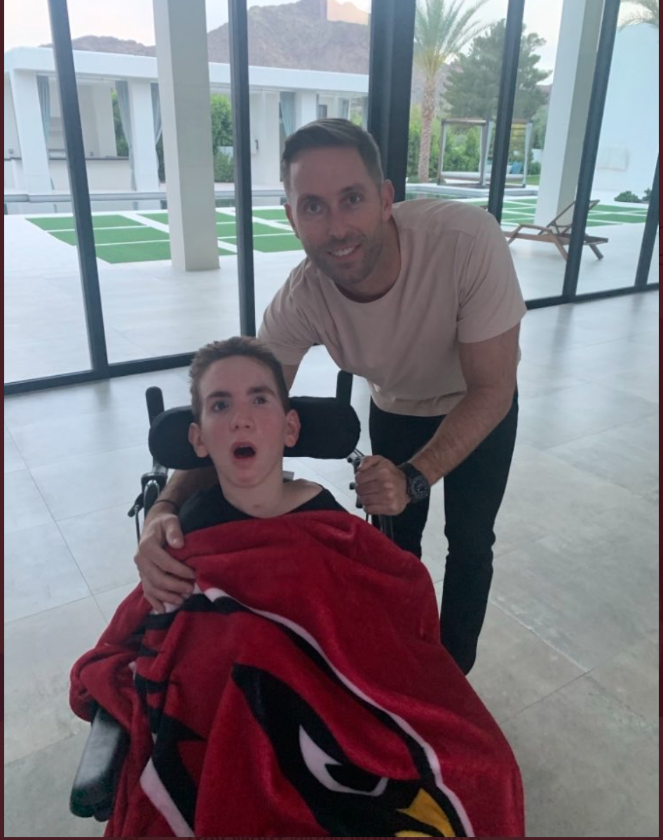 and former coach Kliff Kingsbury (now with the Arizona Cardinals) are prominent Team Luke ambassadors, along with many tennis players worldwide.  The Red Raiders attended Luke's funeral, and Kingsbury is donating $5,000 to Team Luke Hope for Minds for every Cardinals win this season. -